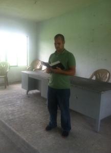 teaching at salon de octos