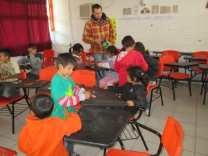 """Escuelita"" - our children's ministry in action."
