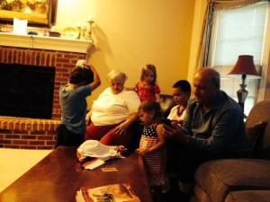 kids with nani and papi