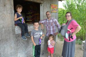 Evangelism in the village leads to a stop at a tienda for Takis and ice cream