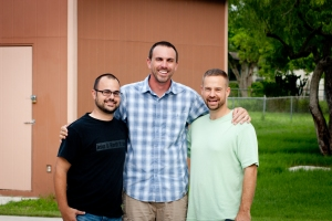 Myself, Josh McKenzie, and Dustin Greenup. Honored to team up with these men!