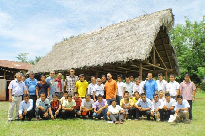 These are the pastors we had the joy of training in the Amazon Jungle in North Central Peru. Until Reaching & Teaching got connected with them about 18 months prior many of them were preaching on their dreams.